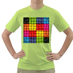 Pinterest Water Colorfull Green T-Shirt