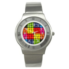 Pinterest Water Colorfull Stainless Steel Watch