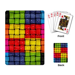 Pinterest Water Colorfull Playing Card