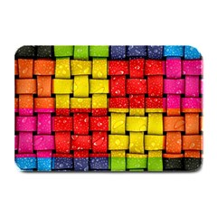 Pinterest Water Colorfull Plate Mats