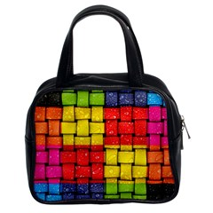 Pinterest Water Colorfull Classic Handbags (2 Sides)