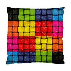 Pinterest Water Colorfull Standard Cushion Case (Two Sides)