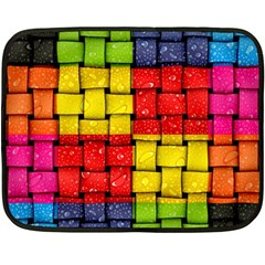 Pinterest Water Colorfull Fleece Blanket (Mini)