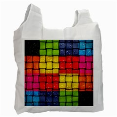 Pinterest Water Colorfull Recycle Bag (Two Side)