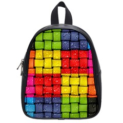 Pinterest Water Colorfull School Bags (Small)