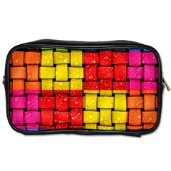 Pinterest Water Colorfull Toiletries Bags