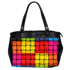 Pinterest Water Colorfull Office Handbags (2 Sides)