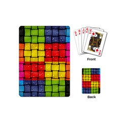 Pinterest Water Colorfull Playing Cards (Mini)