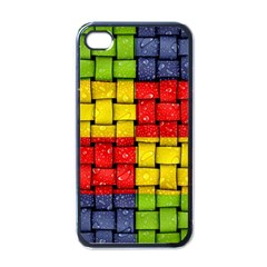 Pinterest Water Colorfull Apple iPhone 4 Case (Black)