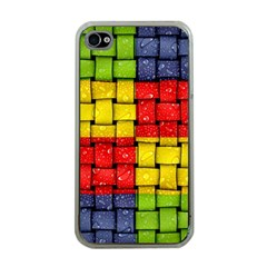 Pinterest Water Colorfull Apple iPhone 4 Case (Clear)