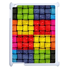 Pinterest Water Colorfull Apple iPad 2 Case (White)