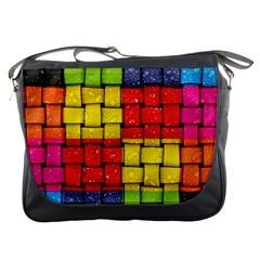 Pinterest Water Colorfull Messenger Bags