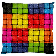 Pinterest Water Colorfull Large Cushion Case (Two Sides)