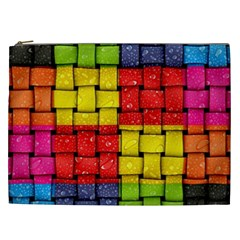 Pinterest Water Colorfull Cosmetic Bag (XXL)