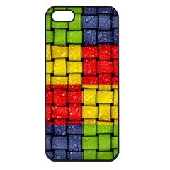 Pinterest Water Colorfull Apple iPhone 5 Seamless Case (Black)