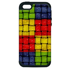 Pinterest Water Colorfull Apple iPhone 5 Hardshell Case (PC+Silicone)