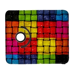Pinterest Water Colorfull Galaxy S3 (Flip/Folio)