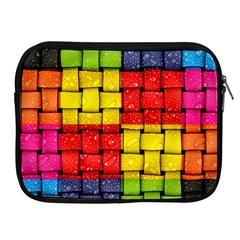Pinterest Water Colorfull Apple iPad 2/3/4 Zipper Cases