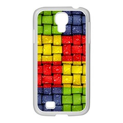Pinterest Water Colorfull Samsung GALAXY S4 I9500/ I9505 Case (White)