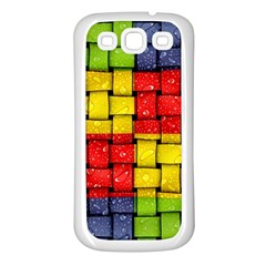 Pinterest Water Colorfull Samsung Galaxy S3 Back Case (White)