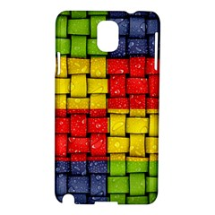 Pinterest Water Colorfull Samsung Galaxy Note 3 N9005 Hardshell Case