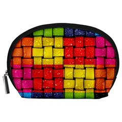 Pinterest Water Colorfull Accessory Pouches (Large)