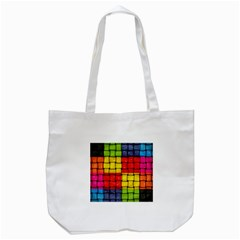 Pinterest Water Colorfull Tote Bag (White)