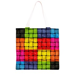Pinterest Water Colorfull Grocery Light Tote Bag