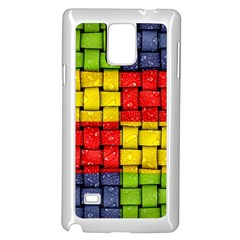 Pinterest Water Colorfull Samsung Galaxy Note 4 Case (White)