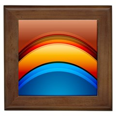 Rainbow Color Framed Tiles