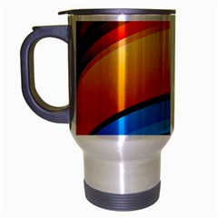 Rainbow Color Travel Mug (Silver Gray)