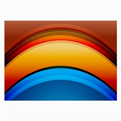 Rainbow Color Large Glasses Cloth (2-Side)