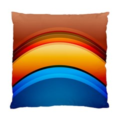 Rainbow Color Standard Cushion Case (One Side)
