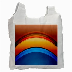 Rainbow Color Recycle Bag (One Side)