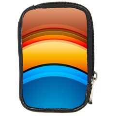 Rainbow Color Compact Camera Cases