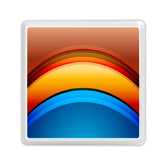 Rainbow Color Memory Card Reader (Square)