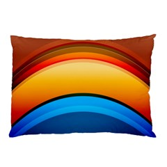 Rainbow Color Pillow Case (Two Sides)