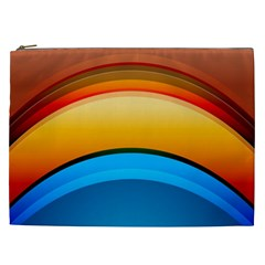 Rainbow Color Cosmetic Bag (XXL)