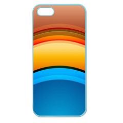 Rainbow Color Apple Seamless iPhone 5 Case (Color)