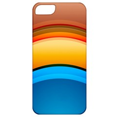 Rainbow Color Apple iPhone 5 Classic Hardshell Case