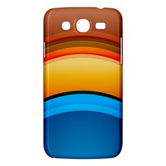 Rainbow Color Samsung Galaxy Mega 5.8 I9152 Hardshell Case
