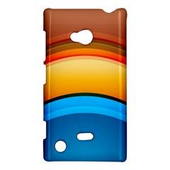 Rainbow Color Nokia Lumia 720