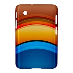 Rainbow Color Samsung Galaxy Tab 2 (7 ) P3100 Hardshell Case