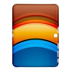 Rainbow Color Samsung Galaxy Tab 4 (10.1 ) Hardshell Case