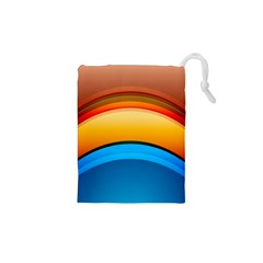 Rainbow Color Drawstring Pouches (XS)