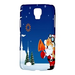 Santa Claus Reindeer Horn Castle Trees Christmas Holiday Galaxy S4 Active