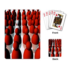 Red White Playing Card