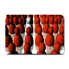 Red White Small Doormat
