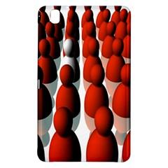Red White Samsung Galaxy Tab Pro 8.4 Hardshell Case