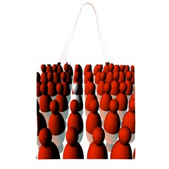 Red White Grocery Light Tote Bag